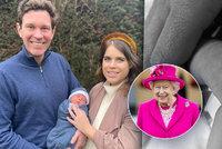 Princezna Eugenie necelé dva týdny po porodu ukázala syna! Prozradila i jméno