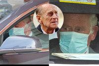 Princ Charles navštívil otce Philipa (99) v nemocnici: Sklíčenost a slzy v očích!