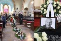 Pohřeb Otakara Černého (†77): Záruba rozesmál smuteční hosty, Jágr zůstal u dveří