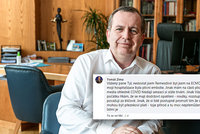 Zvláštní vzkaz rektora Zimy po propuštění z nemocnice: Embolie a zastření na plicích! Promluvil o promoření
