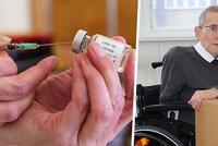 """""""Bojíme se někoho pustit domů,"""" říká vozíčkář Krása a volá po očkování. Na vakcínu si počká"""