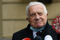 Exprezident Klaus (79) porazil covid. Léčil se doma a prozradil, co mu pomohlo