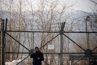 Ostuda pro jihokorejské vojáky: Zběh KLDR k nim doplaval a pronikl do střežené oblasti