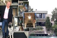 Luxusní bydlení Maroše Kramára: Ve vile u jezera se schovává před koronavirem!
