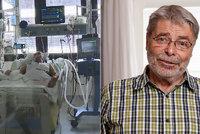 13. komnata sexuologa Radima Uzla (80): Covid, embolie a zápal plic! Loučil jsem se se životem