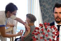 Očkování pro seniory 70+ se otevírá: Návod, jak na registraci. A rady zmocněnce vlády