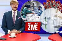 Vysíláme: Exministr Vojtěch živě z Blesku o roku s covidem. Co by dnes udělal jinak?