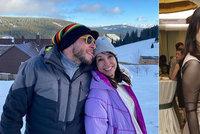 Dvakrát rozvedená Nela Boudová (53) v objetí sympatického vousáče: Pořád mě chce olizovat!