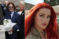 Johnny Depp se raduje: Exmanželku Amber Heardovou vyhodili z filmu Aquaman 2! Porušila smlouvu