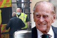 Princ Philip (99) v ohrožení života? Další zdravotní komplikace! Převezli ho jinam
