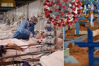 Hrozba brazilské mutace: Nemocnice jsou před zhroucením, ministra děsí rychlost šíření