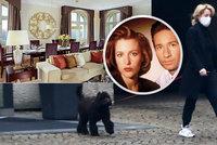 Luxusní »vyhnanství« agentky Scullyové v Praze: Apartmá za 68 tisíc na noc!
