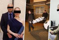 """""""Znalci mě diskvalifikovali z obhajoby,"""" ohradil se u soudu Tomáš (35), který loni ubodal svou přítelkyni"""