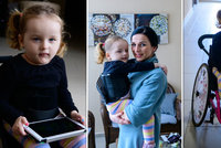 Sofinka Petrovická (3) od narození bojuje s SMA: Vsadili jsme vše na jednu kartu, říká maminka