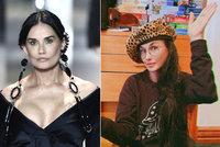 Někdejší kráska Demi Mooreová opět šokuje: Co se jí to děje s obličejem?!