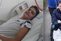 Lukáš (17) trpí spinální atrofií: Sám se nemůže ani najíst, rodina nutně potřebuje auto