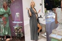 Těhotná Karolína Kurková prozradila pohlaví miminka i zvláštní jména! Kdo je vymyslel?