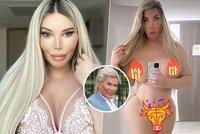 Ken a později Barbie Jessica Alvesová se nahá raduje z nové vaginy: Odpanění za půl milionu?!