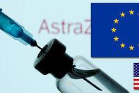 Pusťte AstraZenecu do Evropy, žádá Brusel Američany. Vakcína nemá v USA registraci