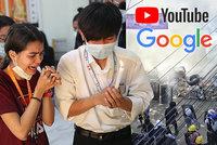 Vyřeší diplomatický pat v Barmě TikTok? Státní televize a kanál armády mizí i z YouTube