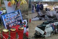 Tragická nehoda autobusu u Nažidel si vyžádala 20 obětí: Jede jako blázen, volal Viktor (†21) mamince