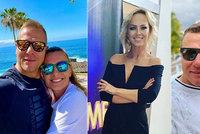 Manžel Belohorcové řádí na Kanárech: Společnost mu dělají sexice Bendová a Bočanová!