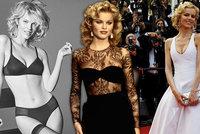 """""""Marilyn Monroe Východu"""" Eva Herzigová slaví 48! Kvůli jejímu dekoltu řidiči bourali"""