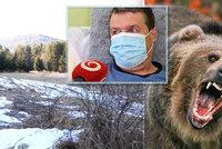 Rozběsněná medvědice se vrhla na myslivce Juraje: Zraněný muž se rval o život holýma rukama!