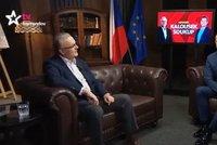 Kalousek každý čtvrtek na TV Barrandov. U Soukupa bude vystupovat v novém pořadu