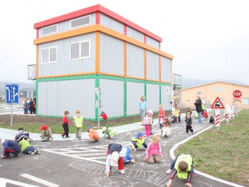 Zázemí dětského dopravního hřiště, Kadaň
