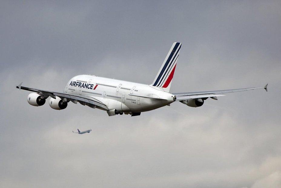 Airbus A380 aerolinek Air France