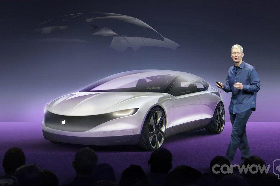 Takhle si Apple Car představují na Carwow.com