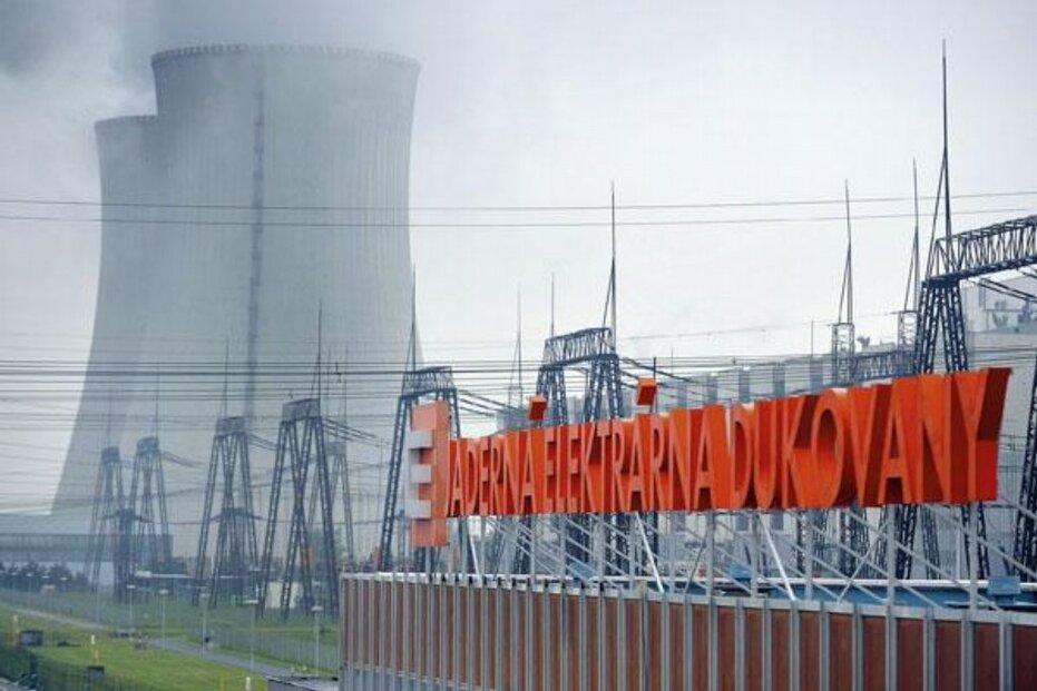 V Jaderné elektrárně Dukovany byl včera znovu neplánovaně odstaven čtvrtý blok.