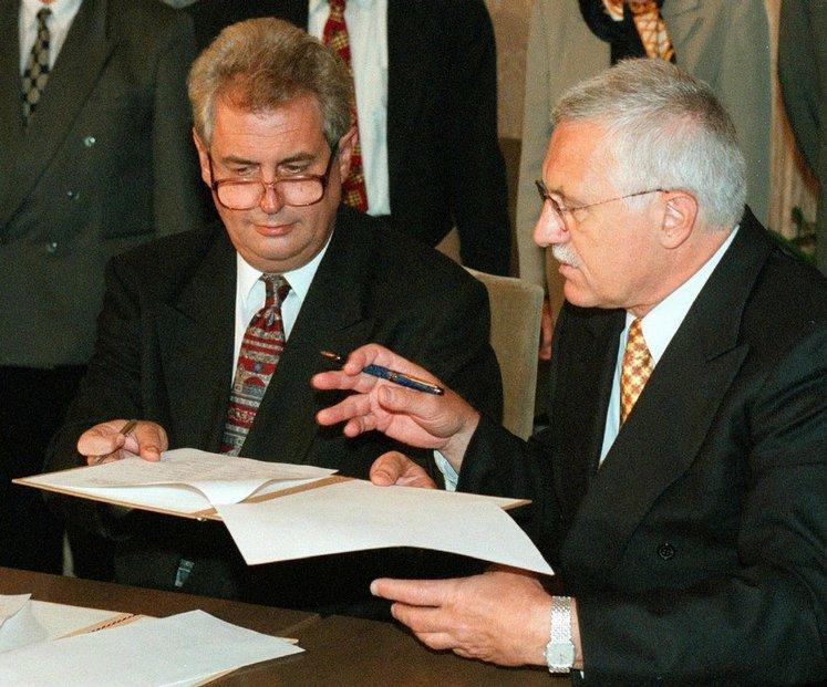 Opoziční smlouva