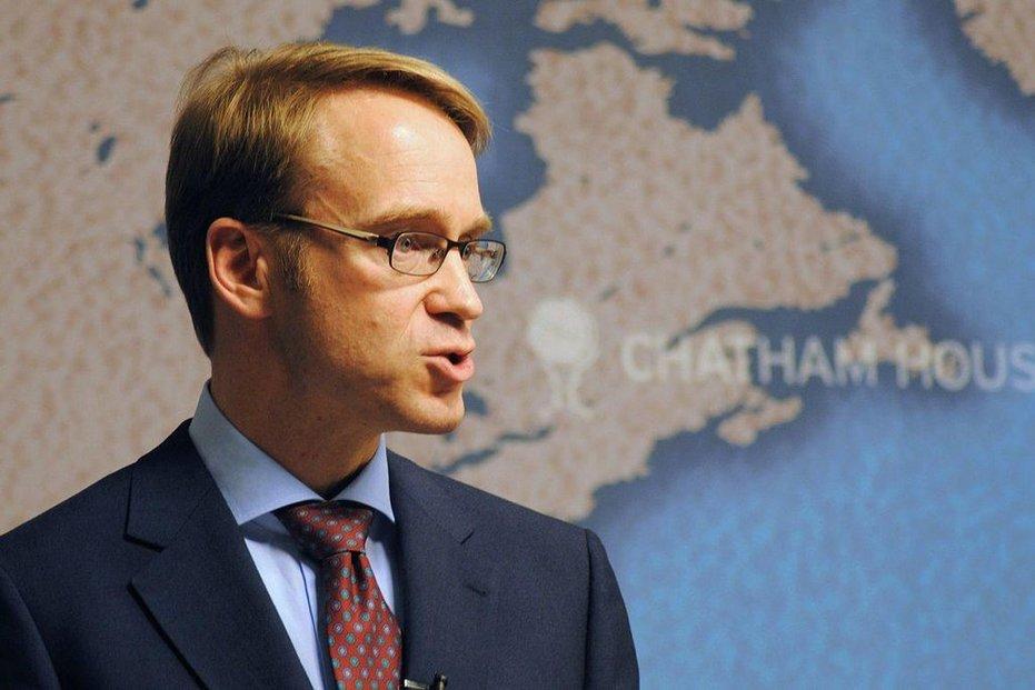 Šéf německé Spolkové banky Jens Weidmann