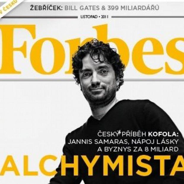 Ekonomický magazín Forbes vyjde ve čtvrtek 3. listopadu poprvé v češtině.