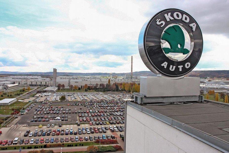 Škoda Auto v Mladé Boleslavi