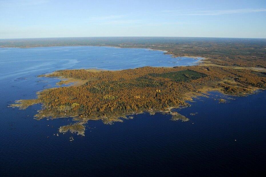 Finský poloostrov Hanhikivi, kde vyroste jaderná elektrárna