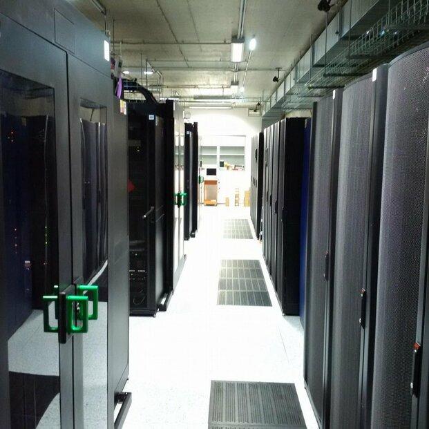 Kapacita datacentra je obsazena zhruba ze třetiny.