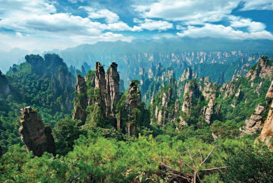 Inspirací pro jejich ztvárnění byl především čínský národní park Čang-ťia-ťie