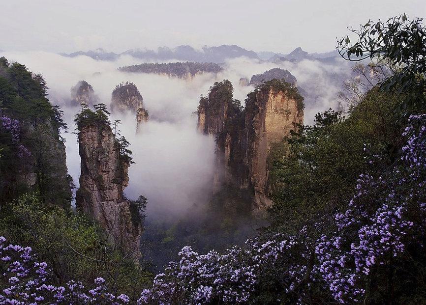 Čínský národní park Čang-ťia-ťie