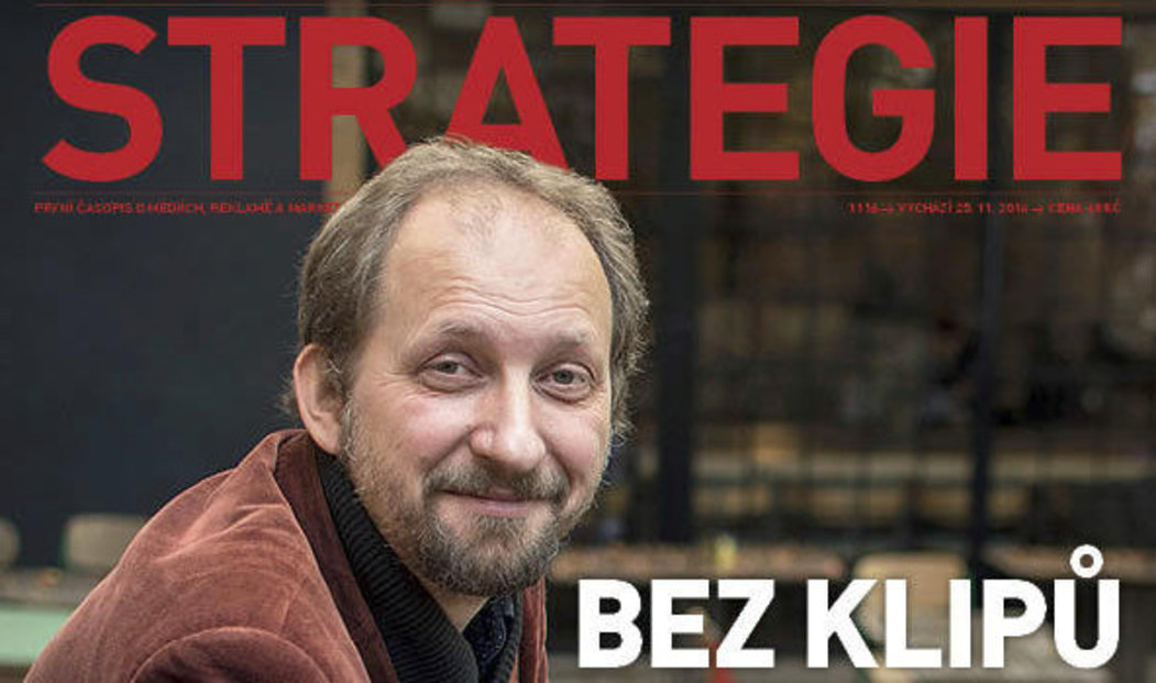 Titulní strana Strategie 11/2016