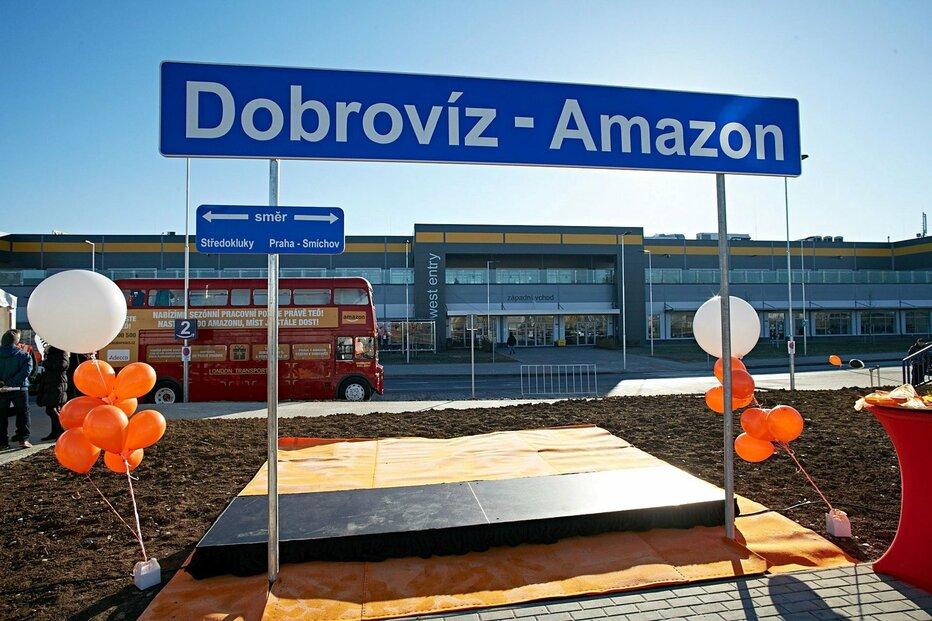 Distribuční centrum Amazonu v Dobrovízi u Prahy se stalo součástí gigantické realitní transakce za dvanáct miliard eur.