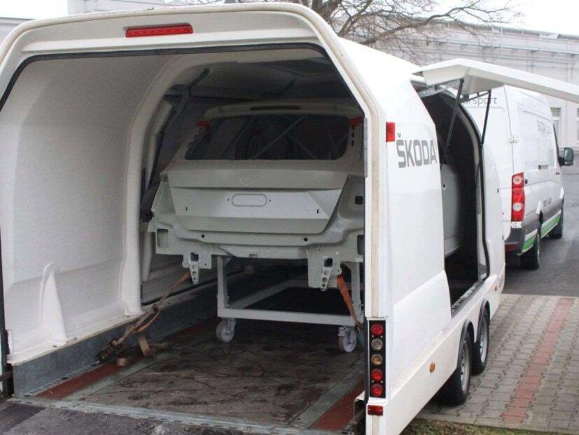 Výroba Škody Fabia R5.