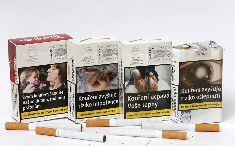 Japonský student kouření