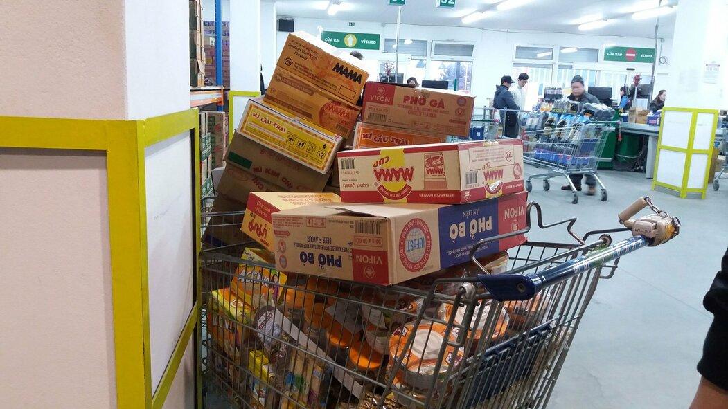 Sapa, vietnamská tržnice v Praze