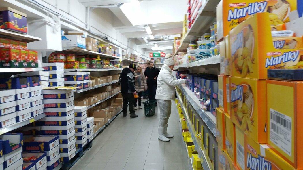 Vietnamská tržnice Sapa v Praze
