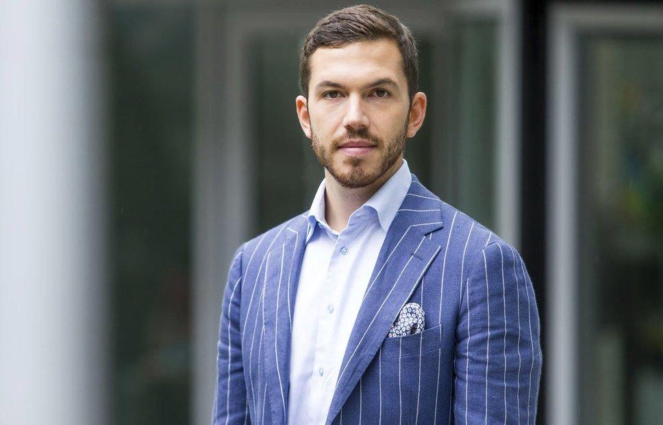 Spolumajitel a generální ředitel investiční společnosti Incomming Ventures Michal Mička.