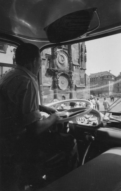 Návštěva Prahy autobusem Škoda