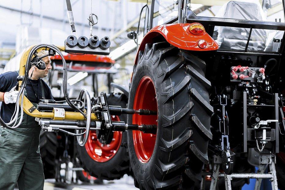 Výroba traktorů Zetor